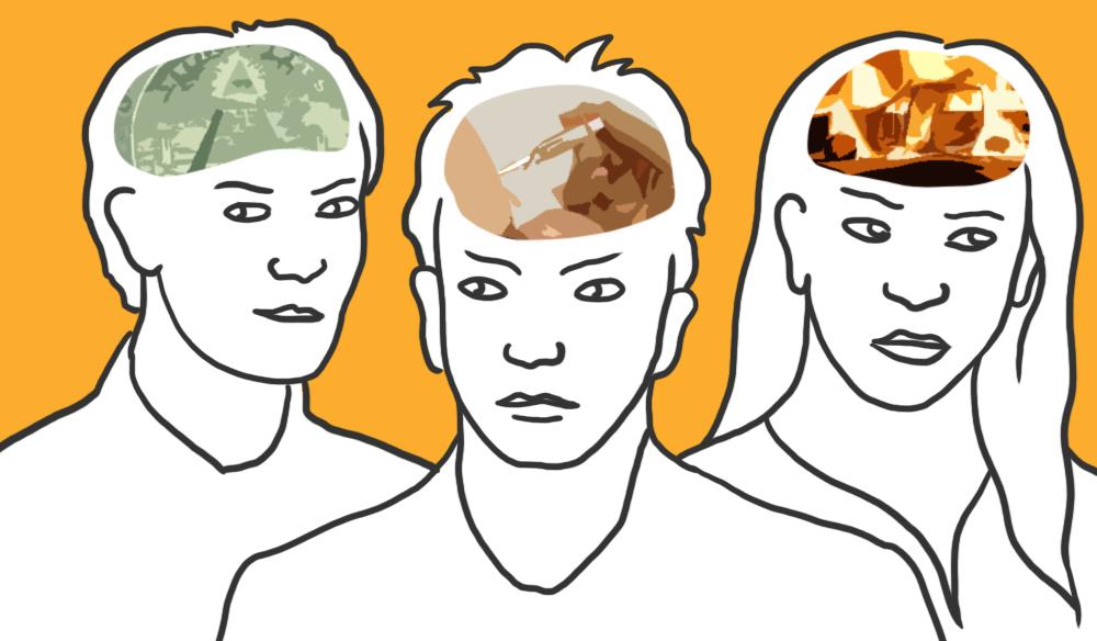 konspiration ledarskap illustration Anna Erlandsson