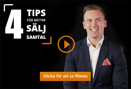 Daniel ger 4 tips för bättre säljsamtal